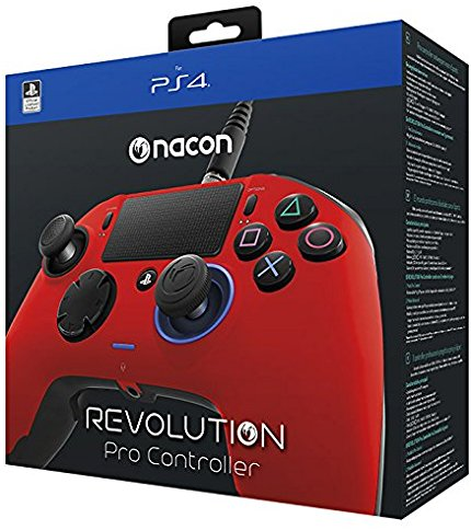 NACON Revolution PRO Controller Red Edition PS4