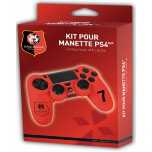 Protective kit for PS4™ controller STADE RENNAIS