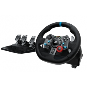 Logitech G29 Driving Force Racing Wheel Force Racing Wheels for Playstation 4, Xbox One, and PC