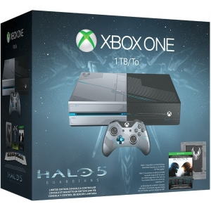 Xbox One 1TB Console - Limited Edition Halo 5: Guardians Bundle Microsoft