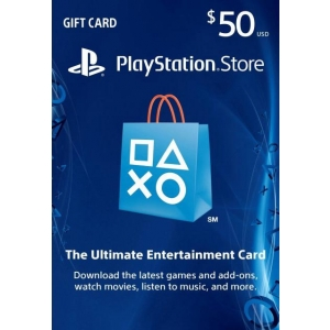Playstation Network Card $50 (U.S. Account)