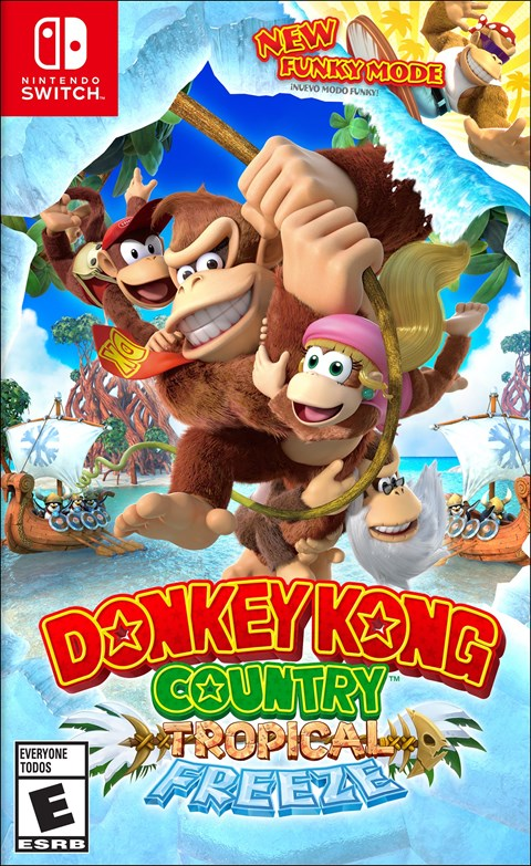 donkey kong country tropical freeze nintendo switch usa