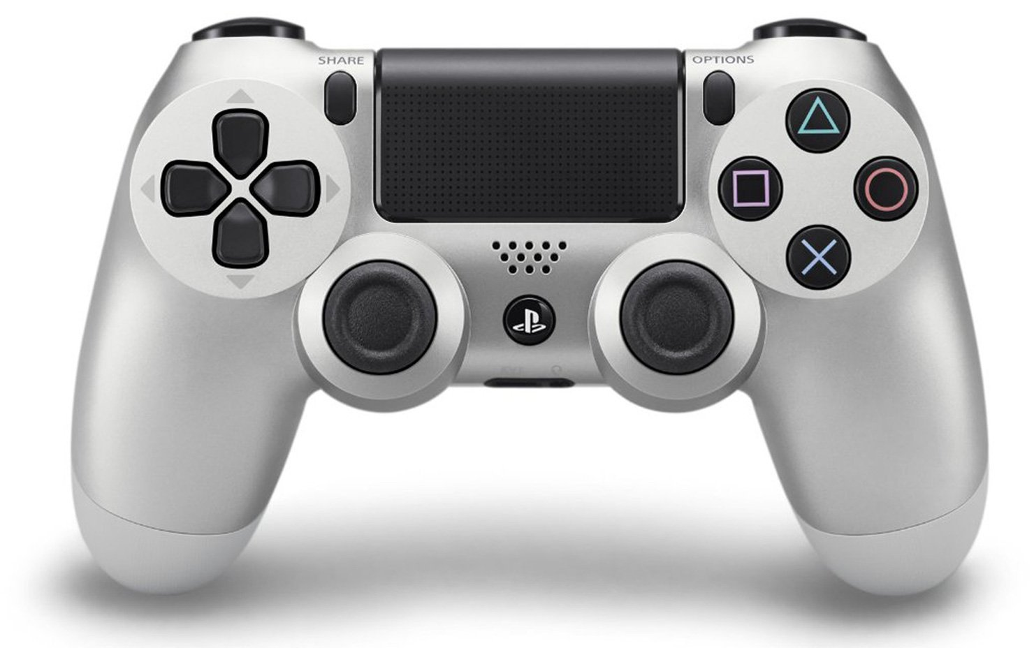 DualShock PlayStation 4 Wireless Controller - Silver