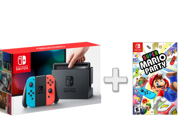 nintendo switch&super mario party