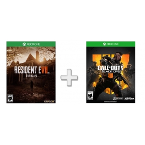 Black Ops 4 usa + Resident Evil 7 Biohazard usa