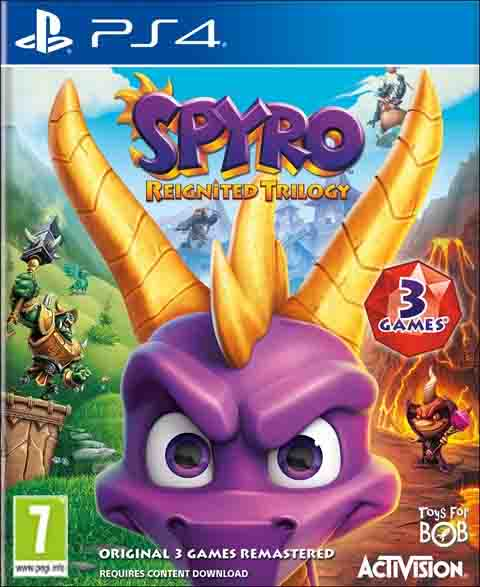 Spyro Reignited Trilogy pal